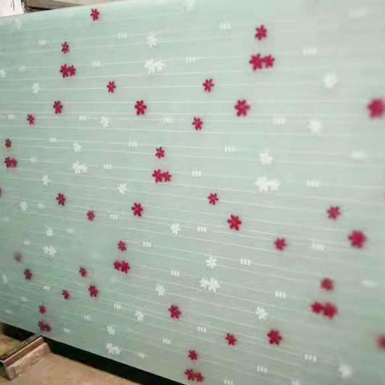 丝印玻璃大全专业定制生产各种丝印玻璃 印花玻璃