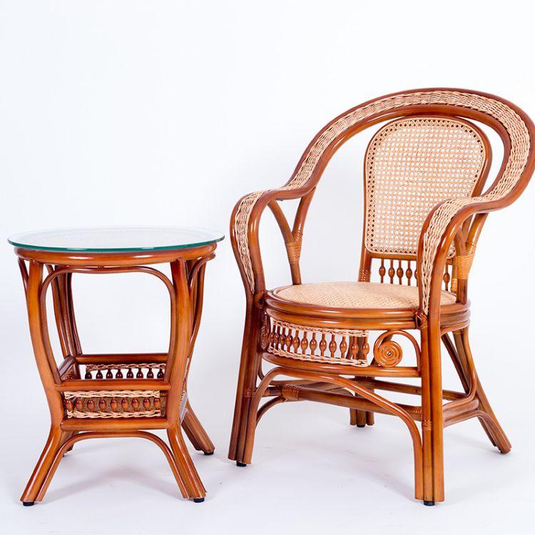 中式古典套件 独板茶几椅子实木古典套件 竹藤家具桌椅古典套件