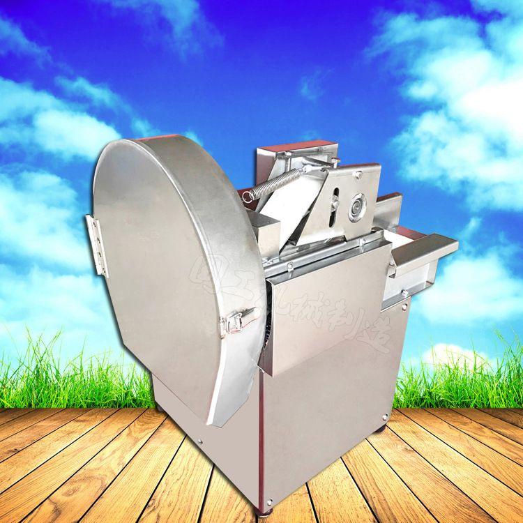 不锈钢大葱韭菜土豆切段切片机 国工机械制造