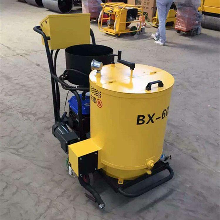 路邦机械燃气加热灌缝机 60升沥青胶灌缝机 公路手推灌封机厂家