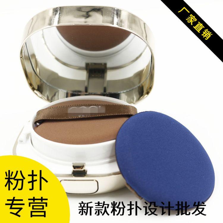 厂家直销气垫粉扑库存现货优质双面非乳胶粉扑BB平面粉扑美妆工具