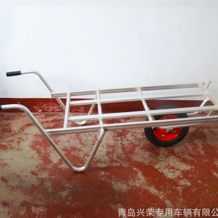 铝合金物流手推车 便携式仓库拉货车 工具平板车 家用粮食搬运