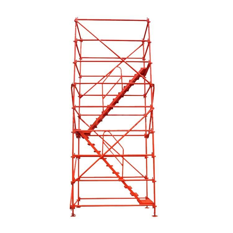 厂家直销 地铁施工安全爬梯 建筑施工安全爬梯 基坑爬梯