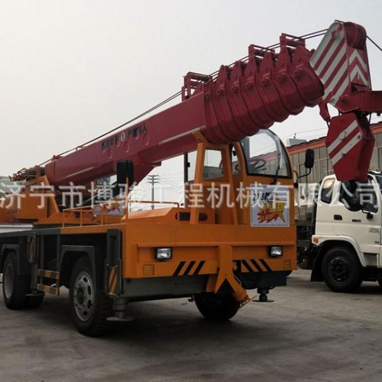 廠商 液壓雙卷揚小型汽車吊 12噸汽車吊車 東風國五底盤吊車