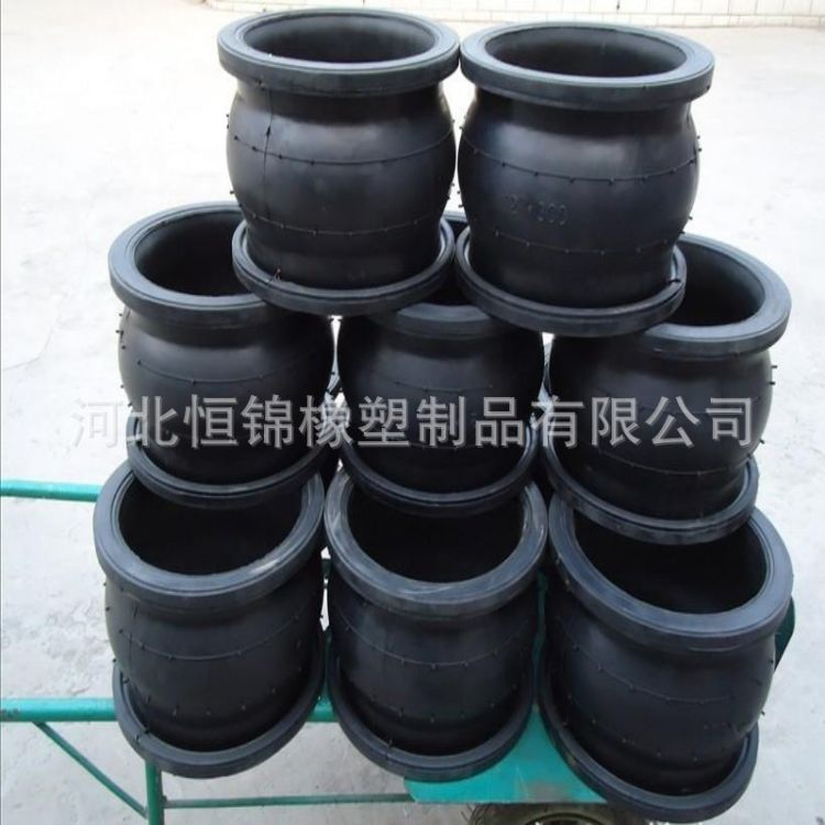 厂家优质供应橡胶软连接 橡胶软接头 量大从优 直径150mm
