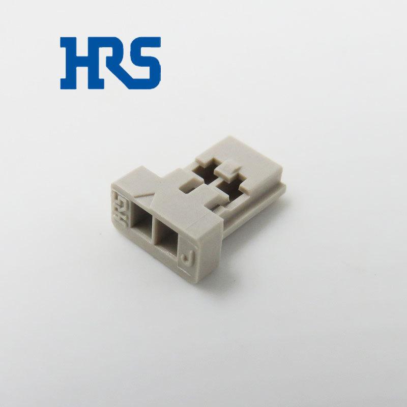 日本Hirose连接器 DF14-2S-1.25C广濑2pin线束胶壳