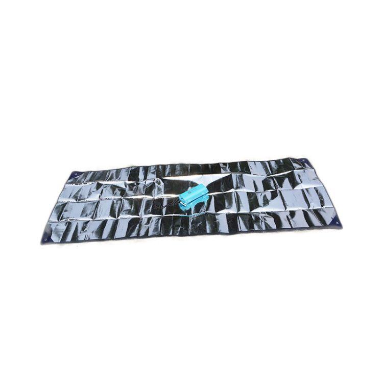 跨境爆款代發并州牧戶外防潮保溫防災急救求生毯75寬雙面鋁箔墊