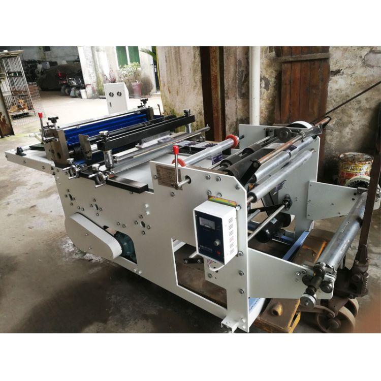 厂家直销600型高速横切机 瓶标 PVC薄膜切断机