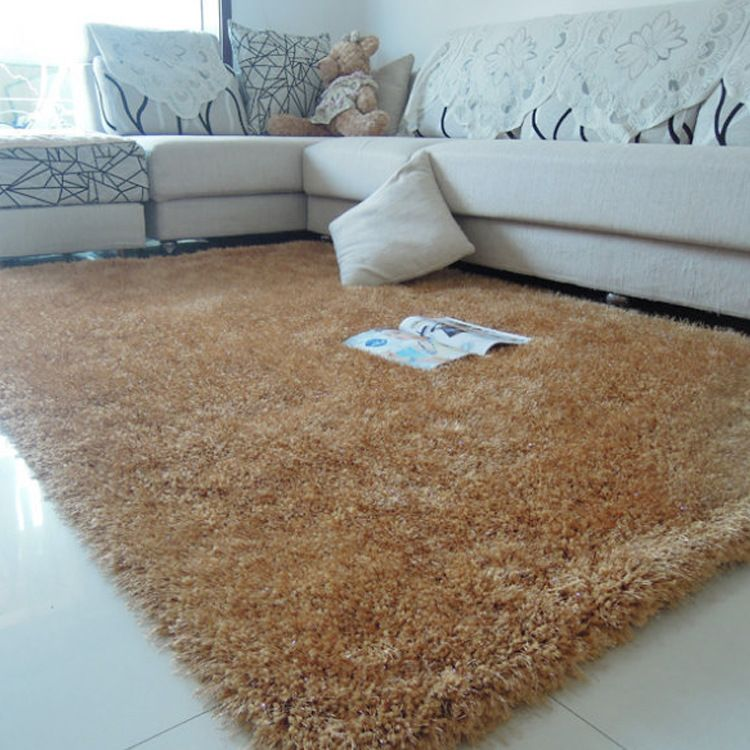 供應批發彈力絲地毯 地墊客廳茶幾臥室床邊地毯 可定做不掉毛