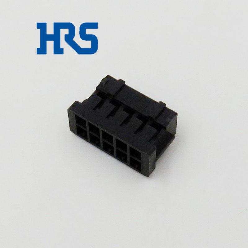 一级HRS连接器DF11-10DS-2C广濑双排10孔间距2mm胶壳