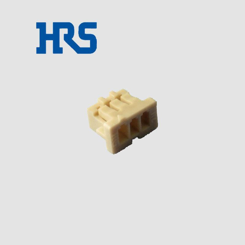 广濑HRS连接器 DF13-3S-1.25C胶壳 广濑间距1.25mm