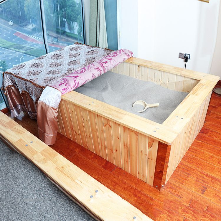 家用鹽療沙療床室內天然磁療沙療玉石床美容養生館酒店鹽療設備