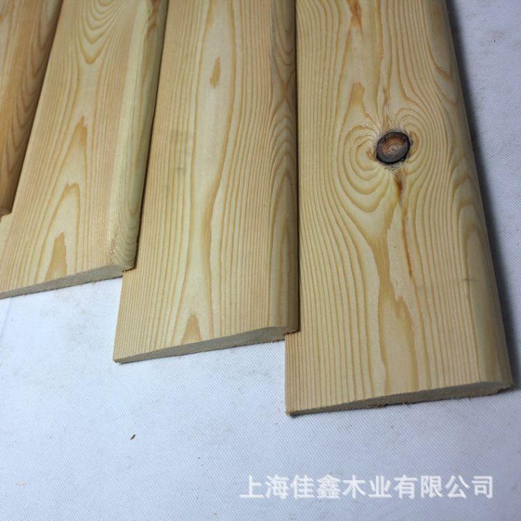 精品推荐无节实木内墙板 深度碳化实木墙板 加厚实木护墙板
