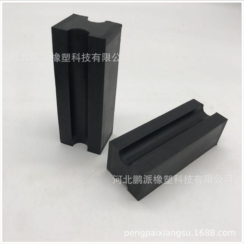 河北鹏派橡塑科技专业定做   橡胶块 防震黑色实心 丁腈橡胶块 方形橡胶块 避震橡胶块 长方形橡胶块 橡胶减震块