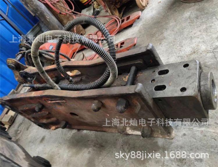 韩国二手破碎锤-液压破碎锤/挖机旧炮头/日本古河直锤新钎杆