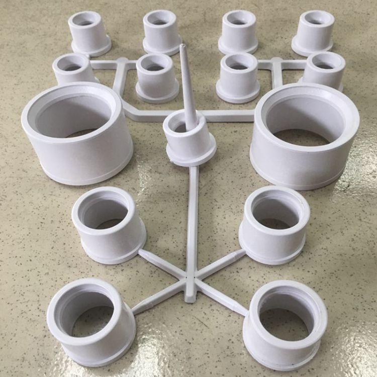 白色PVC塑胶颗粒 硬质塑料管颗粒 环保挤出型材PVC原料 厂家直销