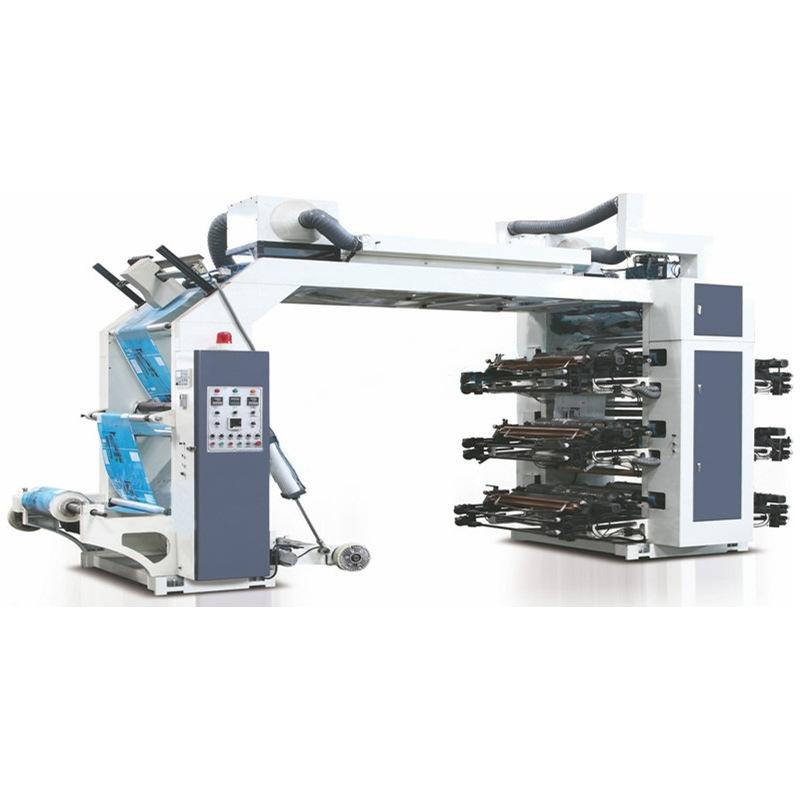 厂家定制无纺布袋印刷机 高速印刷 配陶瓷网纹滚 印刷图片清晰