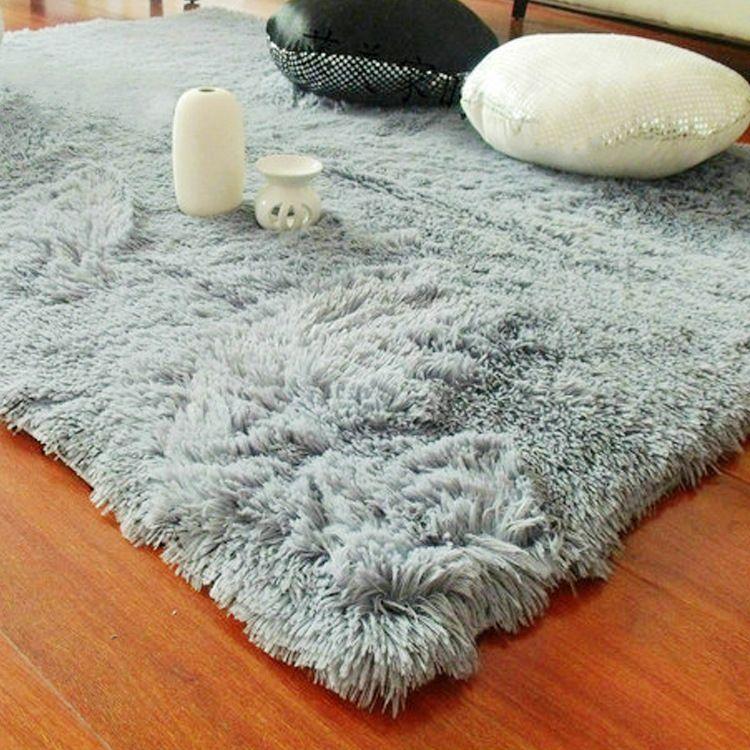 供應批發長方形絲毛地毯 地墊客廳茶幾臥室床邊地毯 可定做不掉毛