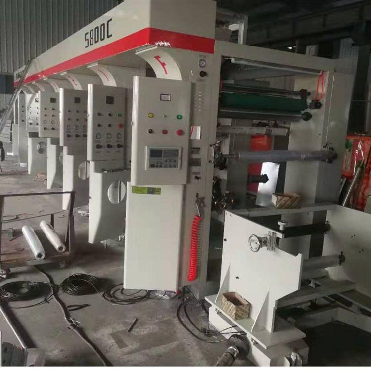 瑞安厂家定制塑料薄膜凹版印刷机 OPP膜PE膜POF膜高速印刷