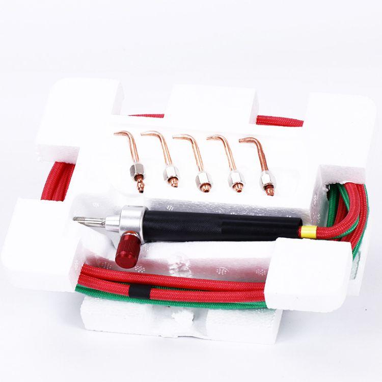 美国氧气枪焊接枪氧焊枪氧气乙块火枪射吸式焊枪打金工具