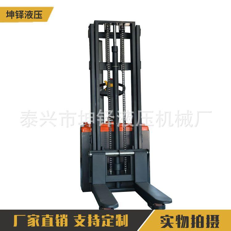 电动液压堆高升高车 站驾式全电动堆高车 全电动堆高升高车