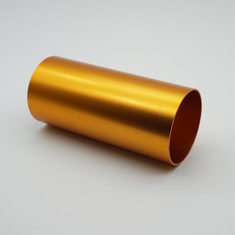 装饰装潢铝型材加工挤压CNC数控电解着色彩色铝管铝合金成品加工