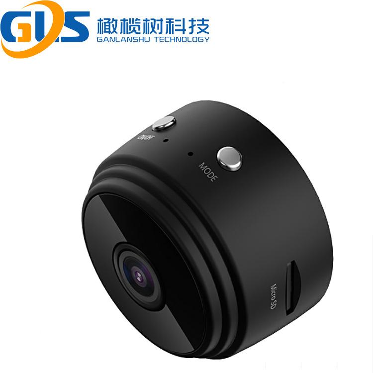 A9无线WiFi摄像 高清1080P夜视广角记录仪运动户外相机 远程摄像