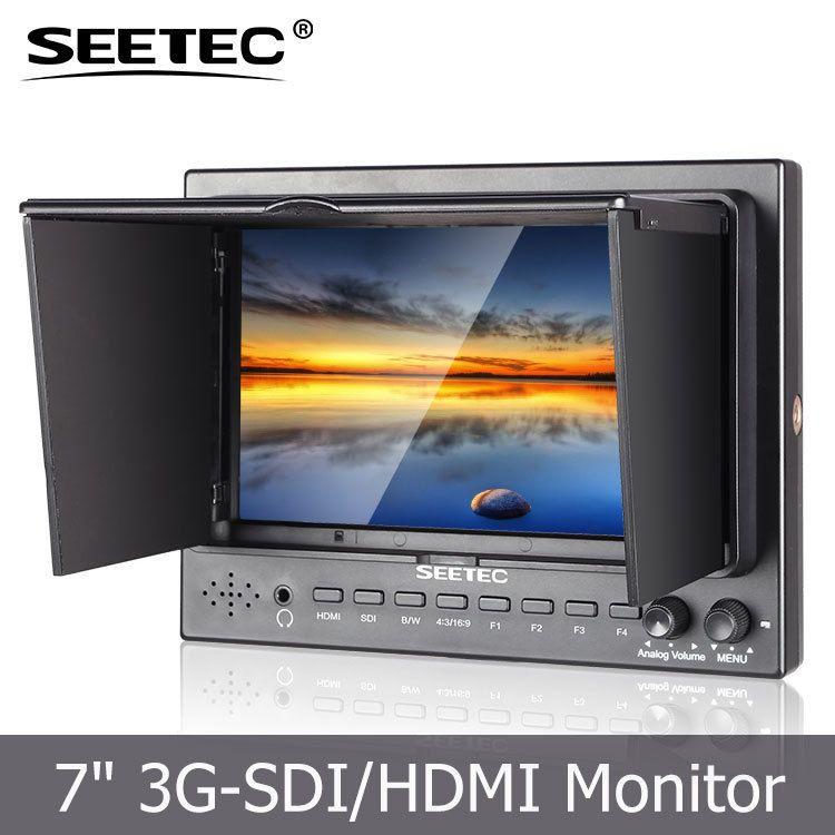 视瑞特7寸sdi摄像机单反监视器bmpc套件单反摄像机套件导演取景器