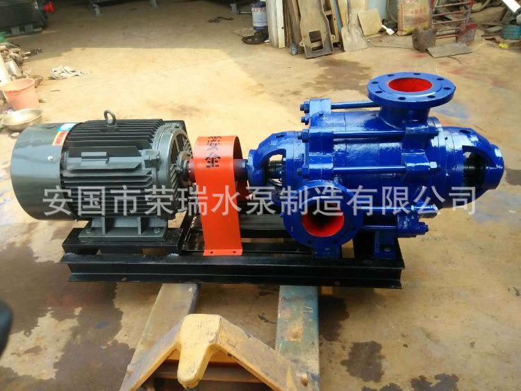 機械密封型多級離心礦山給水泵D DG25-50X4臥式礦用耐磨多級泵