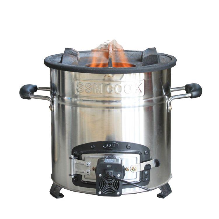 廠家直銷 生物質鍋爐取暖爐燒烤爐生物質氣化爐 功率132