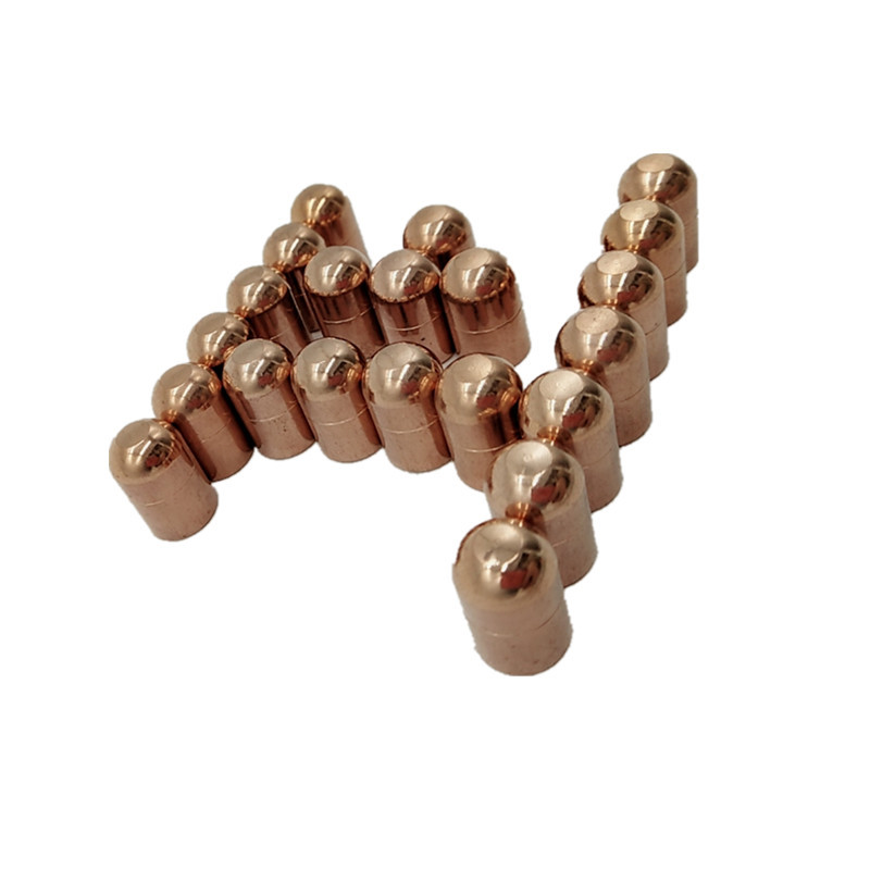 廠家直銷 點焊機電極帽 異型電極頭鉻鋯銅電極帽 13*20 支持定做