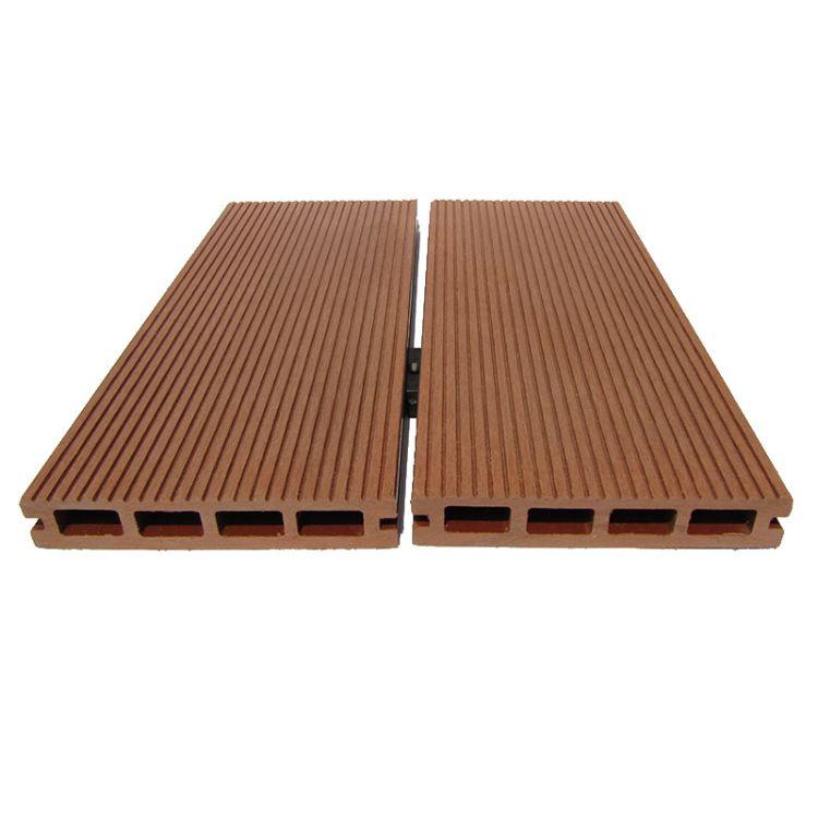 厂家直销景观园林专用防腐防水PE木塑地板140X25户外塑木地板