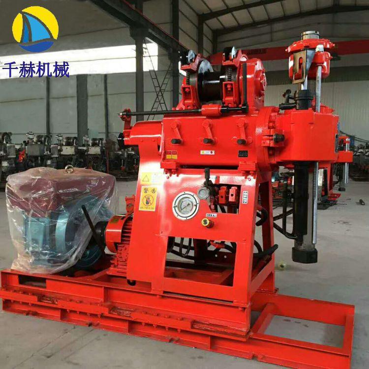 千米深XY-2岩心钻机厂家直销 工程地质勘探钻机 液压回转式钻探机