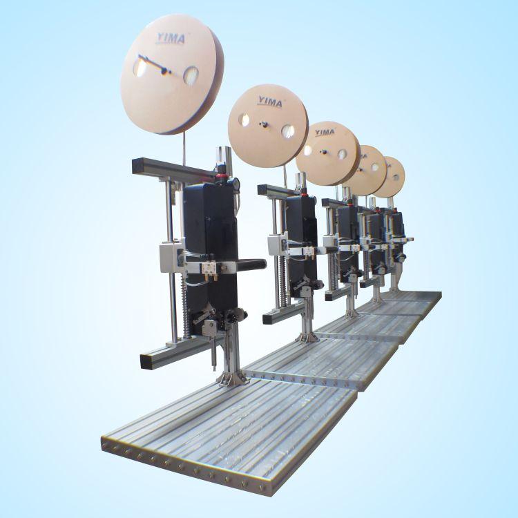 廠家直供YIMA 氣動膠釘機VNS膠針機 玩具定位包裝 整機保修