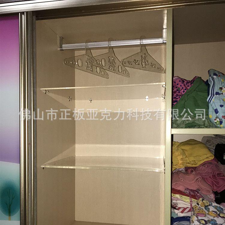 亚克力家具定制 衣柜橱柜门窗隔板加工定制 水晶家具厂家制作