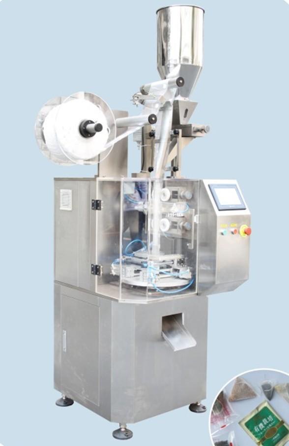 供应全自动尼龙三/角包精装茶叶包装机
