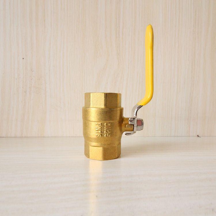 絲扣黃銅燃氣球閥 內外絲球閥 水暖管氣專用黃銅球閥