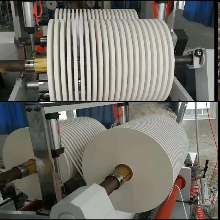 吸管纸分条机  专业纸吸管机分切机械 收卷直径可达60公分
