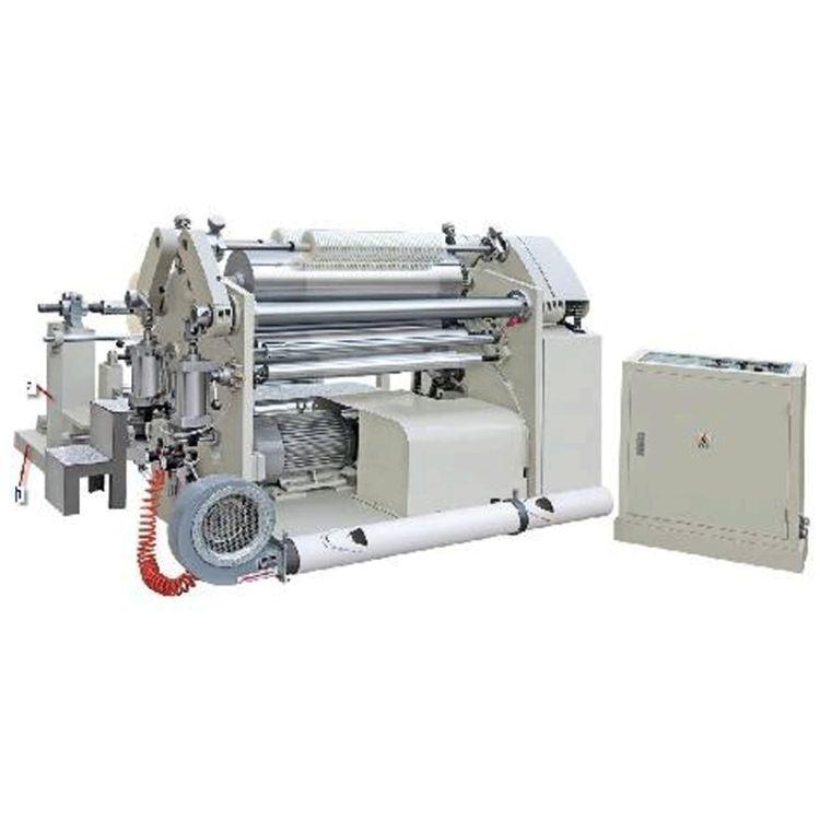 厂家定制铝箔碳带分切机 靠背式表面收卷 专业铜带分条机