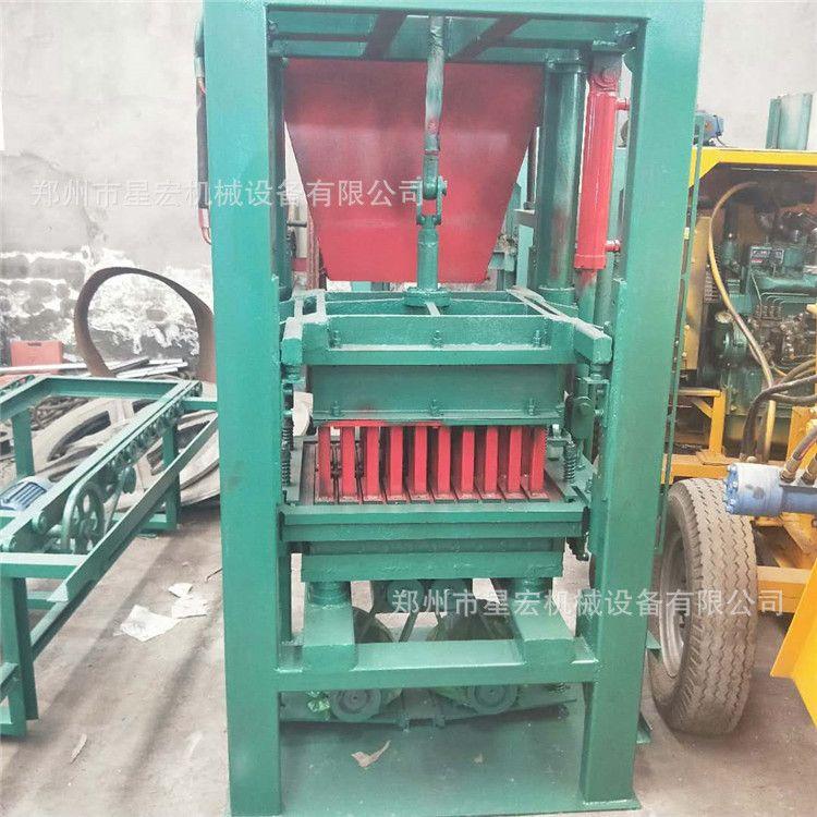 混凝土免烧制砖机 多功能水泥垫块砖机 小型水泥免烧制砖机