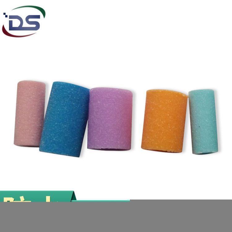 DS 植砂粘砂ABS磨脚器磨头 ODM贴牌电动塑胶磨头 不脱砂研磨砂轮批发