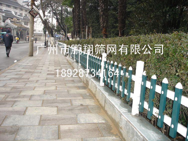 供应PVC围墙护栏 小区护栏 庭院护栏 价格便宜 质量可靠