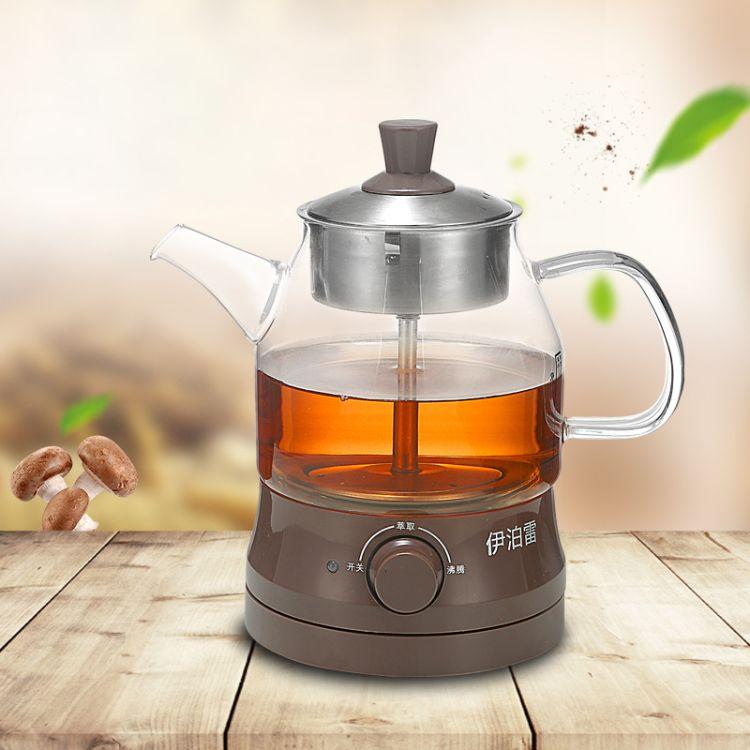 加厚玻璃多功能養生壺黑茶普洱蒸汽煮茶器快速電熱水壺源頭工廠貨