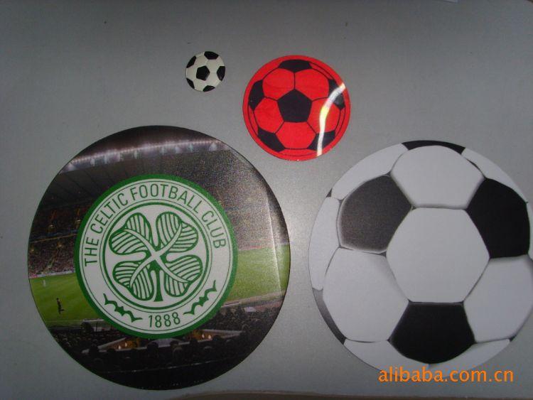 厂家供应促销礼品 圆形EVA足球鼠标垫定制广告鼠标垫