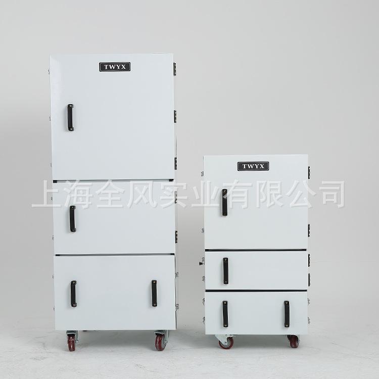 工业型低噪音磨床集尘机 柜式磨床集尘器 金属抛光粉尘收集集尘器