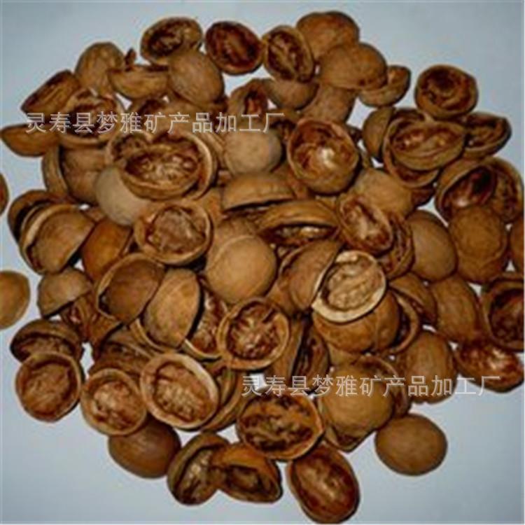 梦雅批发果壳 杏仁壳 酸枣壳 污水处理核桃壳 核桃壳粉