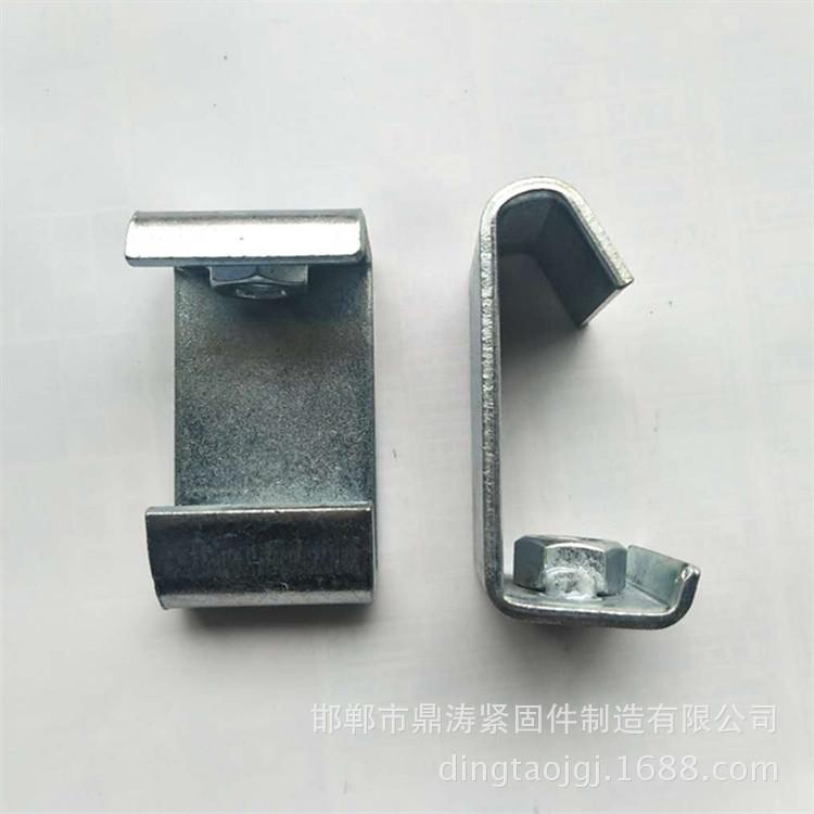 河北廠家直供 8厘掛鉤 絲桿掛鉤 牙條吊鉤 C型鋼掛鉤