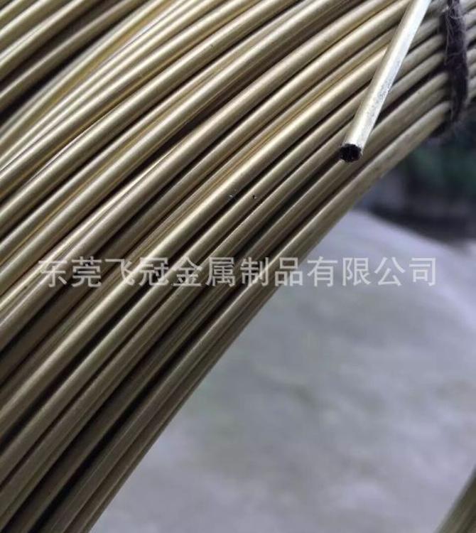 东莞h62黄铜盘管 1*0.5  2*1  3*2  c2680 h65黄铜盘管/圆管