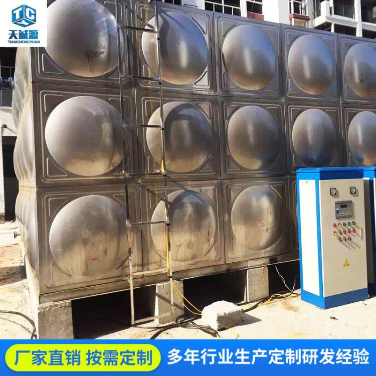 佛山201定制水处理设备不锈钢水箱 工程消防保温水箱厂家直销