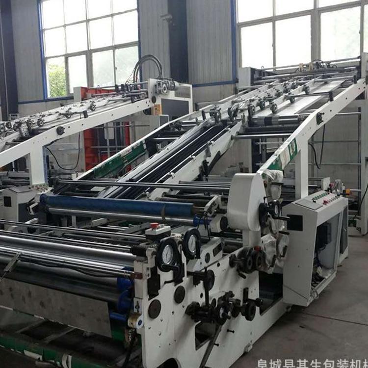 纸箱机械 厂家直销 可定制后轨全自动裱纸机 贴面机 覆面机